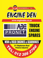 Engine Den - Importers & Exporters of New & Used Engines, Gearboxes, Generators & Motors Spares to the Motor Industry.